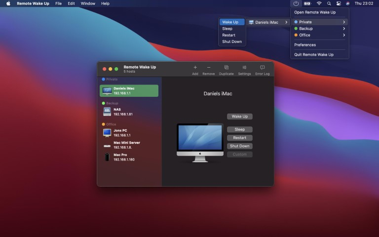Remote Wake Up 1.4.1 macOS Torrent