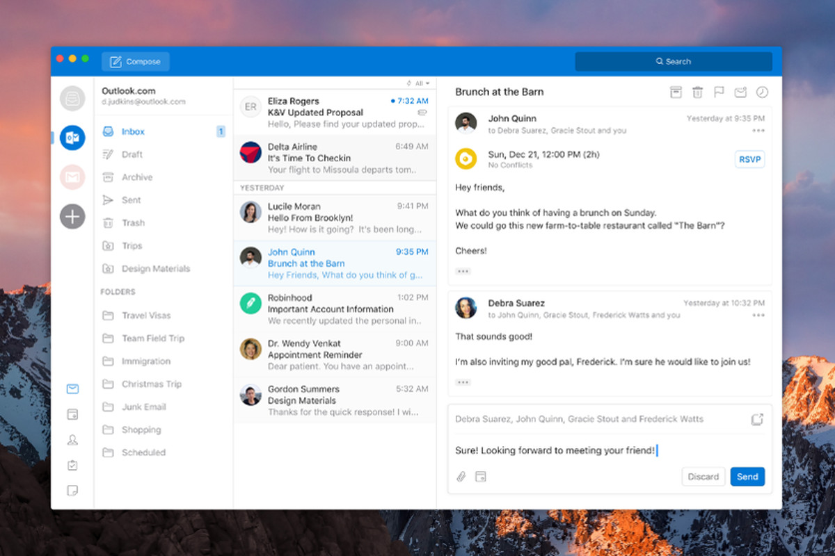 Microsoft Outlook for Mac 16.48 Cracked