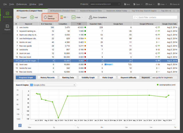 Rank Tracker for Mac 8.38.9 Free Download