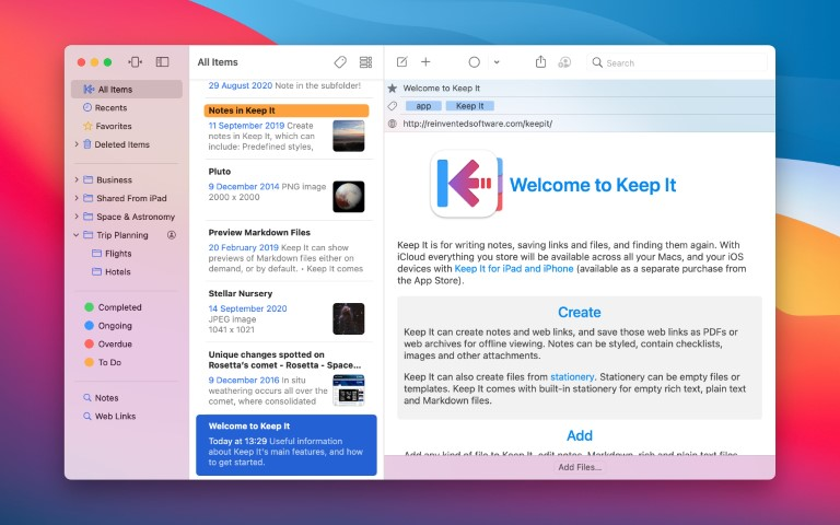 Keep It for Mac 1.10.6 Torrent
